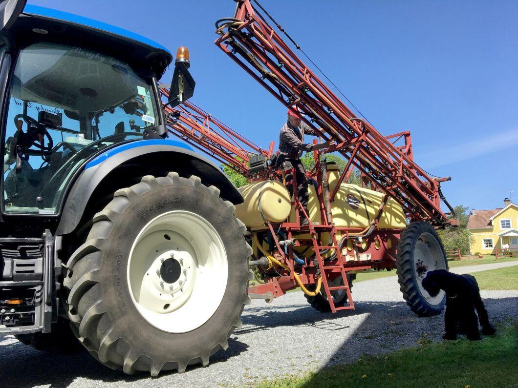 Nu lanserar Hushållningssällskapet tävlingen Agtech Challenge för att hitta ny innovativ lantbruksteknik (arkivbild).