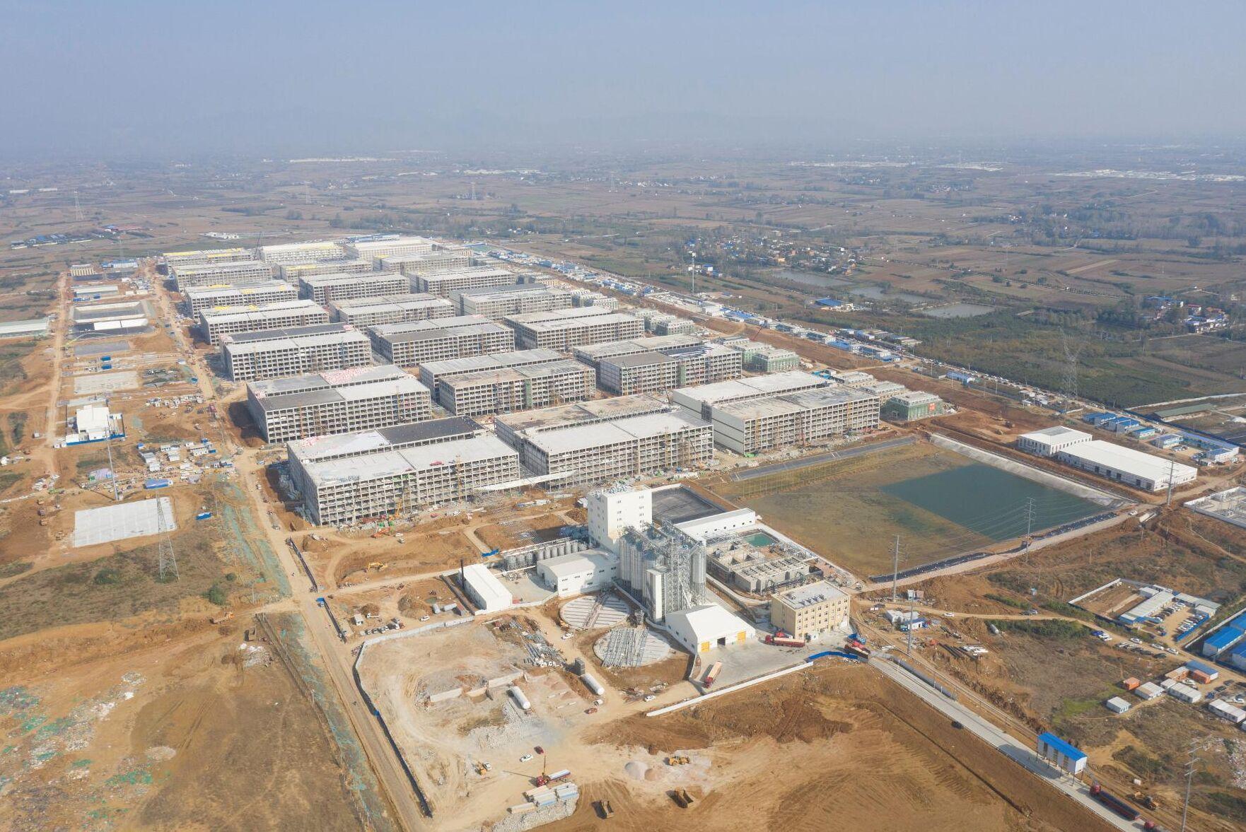 Muyuan Foods bygger världens största grisanläggning.