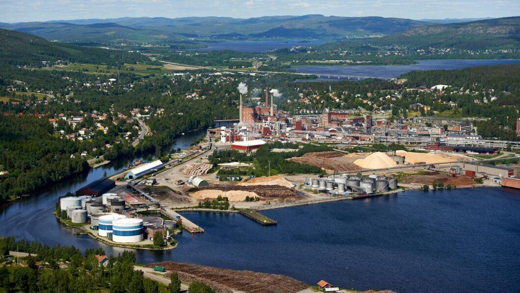 Blir projektet verklighet ska det byggas ett bioraffinaderi på området vid Domsjö Fabriker.