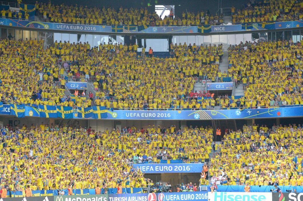 Två anställda vid Sveriges lantbruksuniversitet erbjöds biljetter till fotbolls-EM i Frankrike, vilket var en muta. Arkivbild.