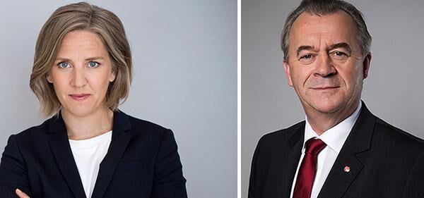 Slitningarna märks när miljöministern Karolina Skog och landsbygdsminister Sven-Erik Bucht försök skyla över splittringarna efter att ha motsagt varandra.