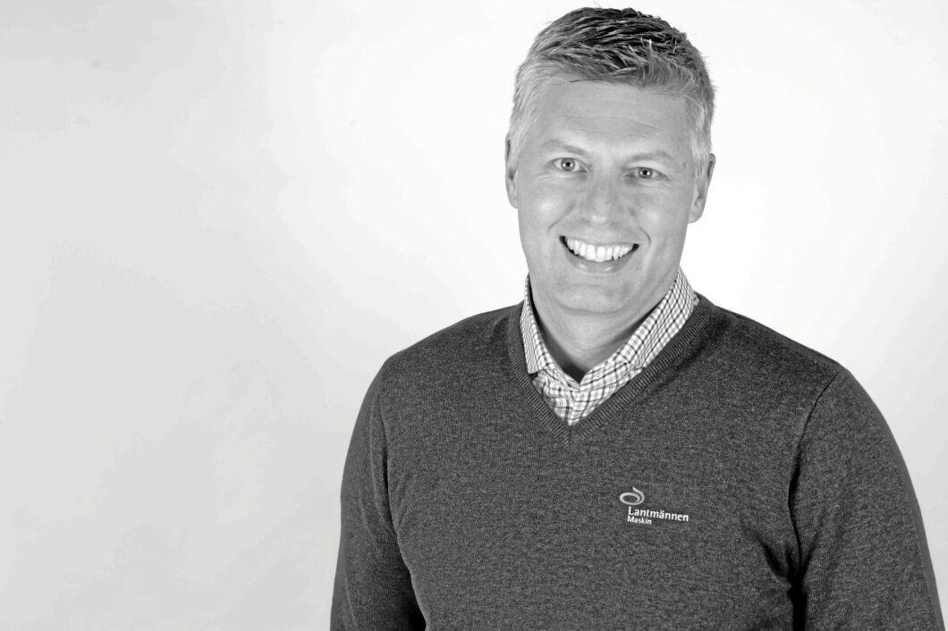 Björn Nordgaard, kommunikationschef på Lantmännen Maskin.