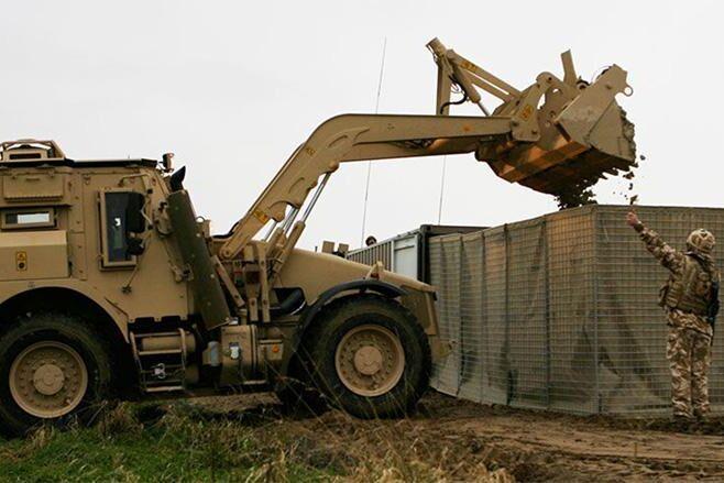 JCB:s HMEE har bland annat använts av brittiska styrkor i Afghanistan.