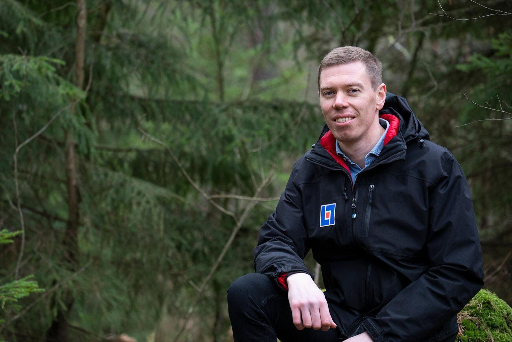 Bertil Jansson, naturskadesamordnare på Länsförsäkringar Östgöta.