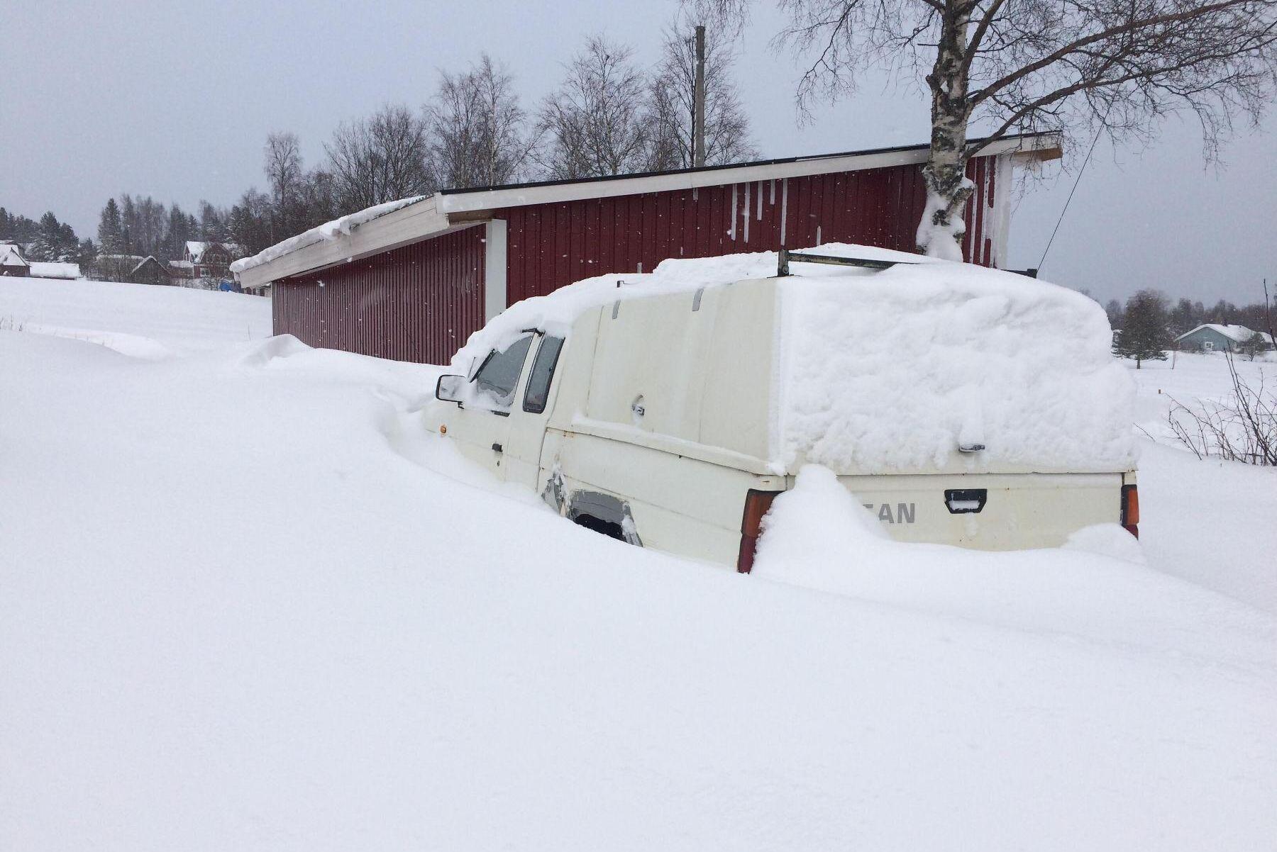 I Örnsköldsvik fick ATL:s läsare Krister Nordström tänka om gällande sin planerade biltur.