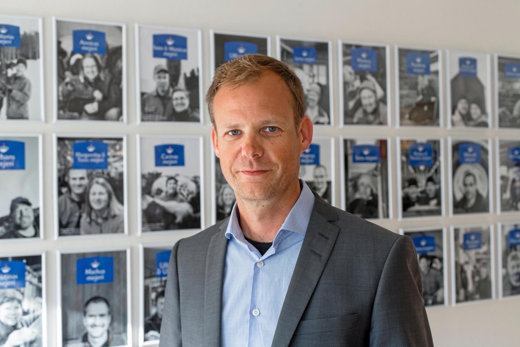 Norrmejeriers avgående vd Anders Fredriksson.