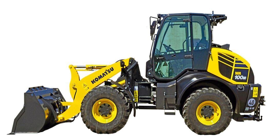 För kunder som önskar det kan hjullastaren levereras med ett högkapacitets-hydraulsystem, höjdjusterbart drag samt ett tredje och fjärde hydrauluttag baktill.