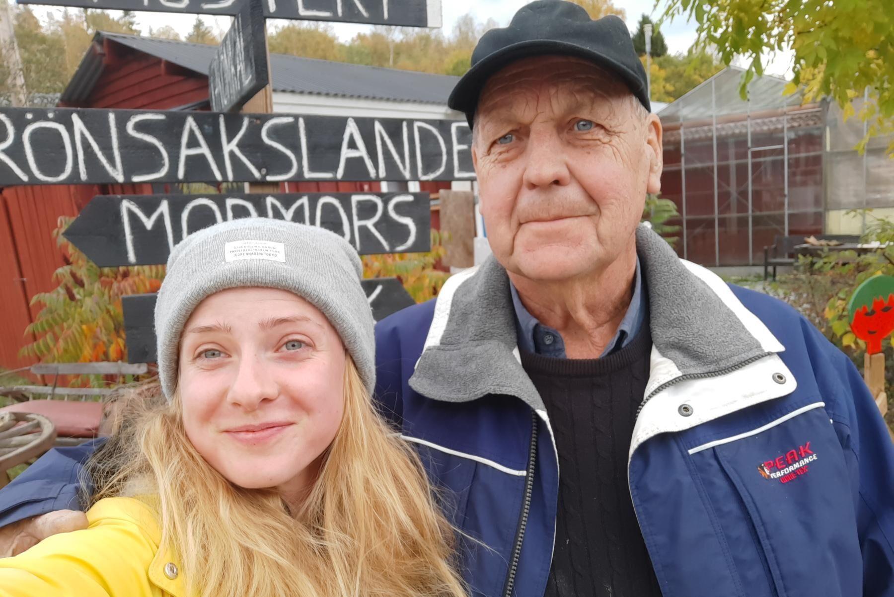 Carolina Obrzut och Ulf Engström driver tillsammans Trädgårn Södertälje.