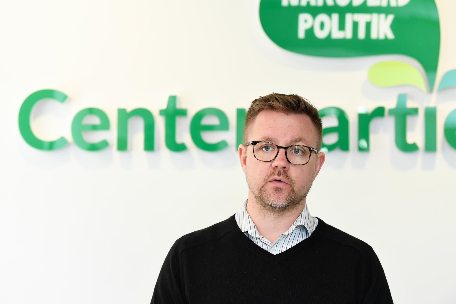 Centerpartiets Fredrick Federley lämnar politiken. Arkivbild.