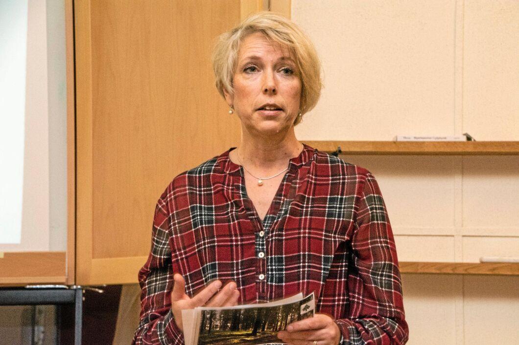 Helena Jonsson, förbundsordförande för LRF.