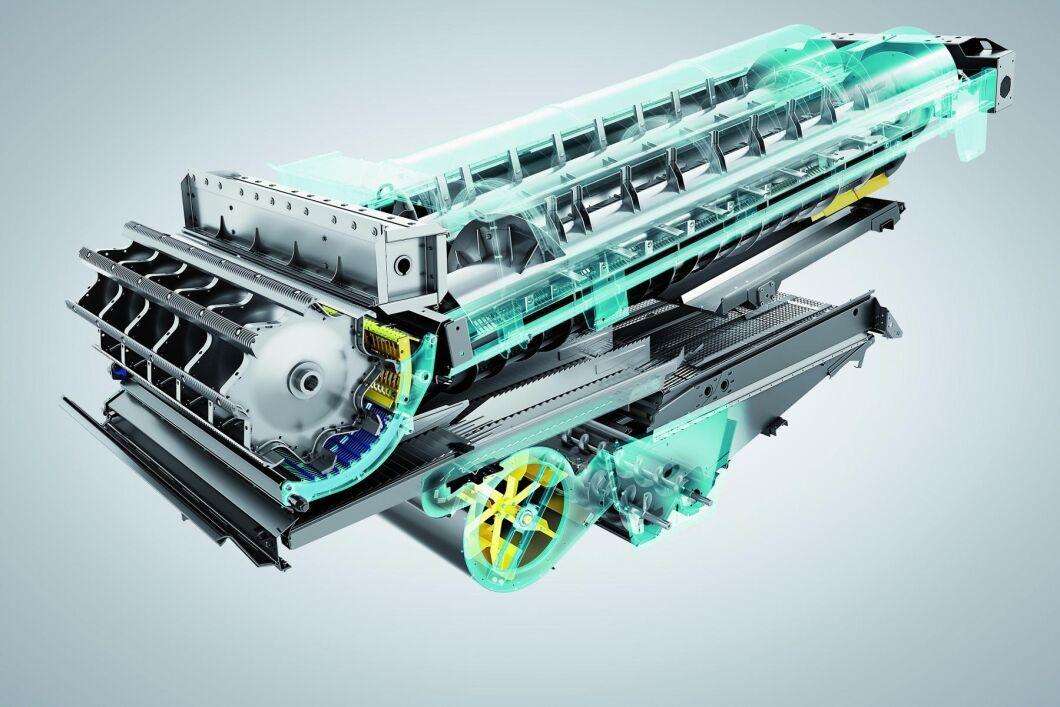 Enligt företaget ska den nya crossover-tekniken leverera upp till 25 procent högre genomströmning än många konventionella tröskor.