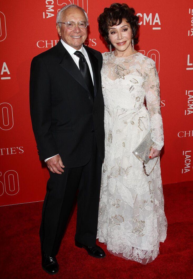 Stewart och Lynda Resnick på gala i Los Angeles 2015.