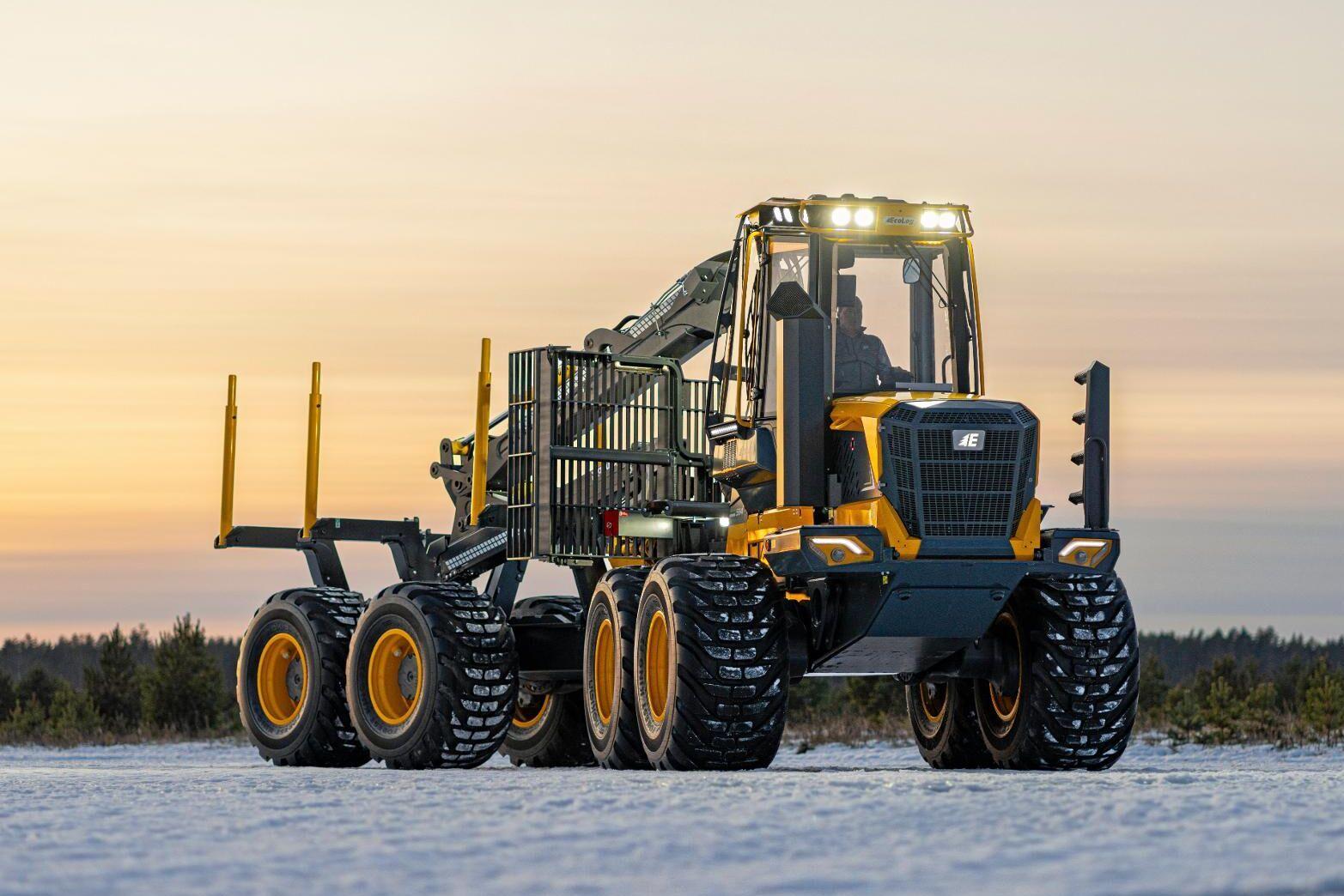 Eco logs nya F-serie har steg V-motorer från Volvo.