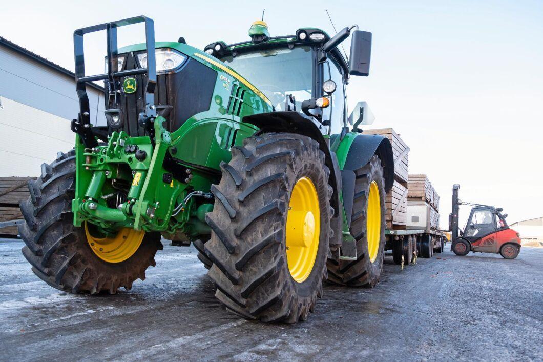 I fjol registrerades 292 traktor B, traktorer av snabbare typ som får gå i 50 km/h.