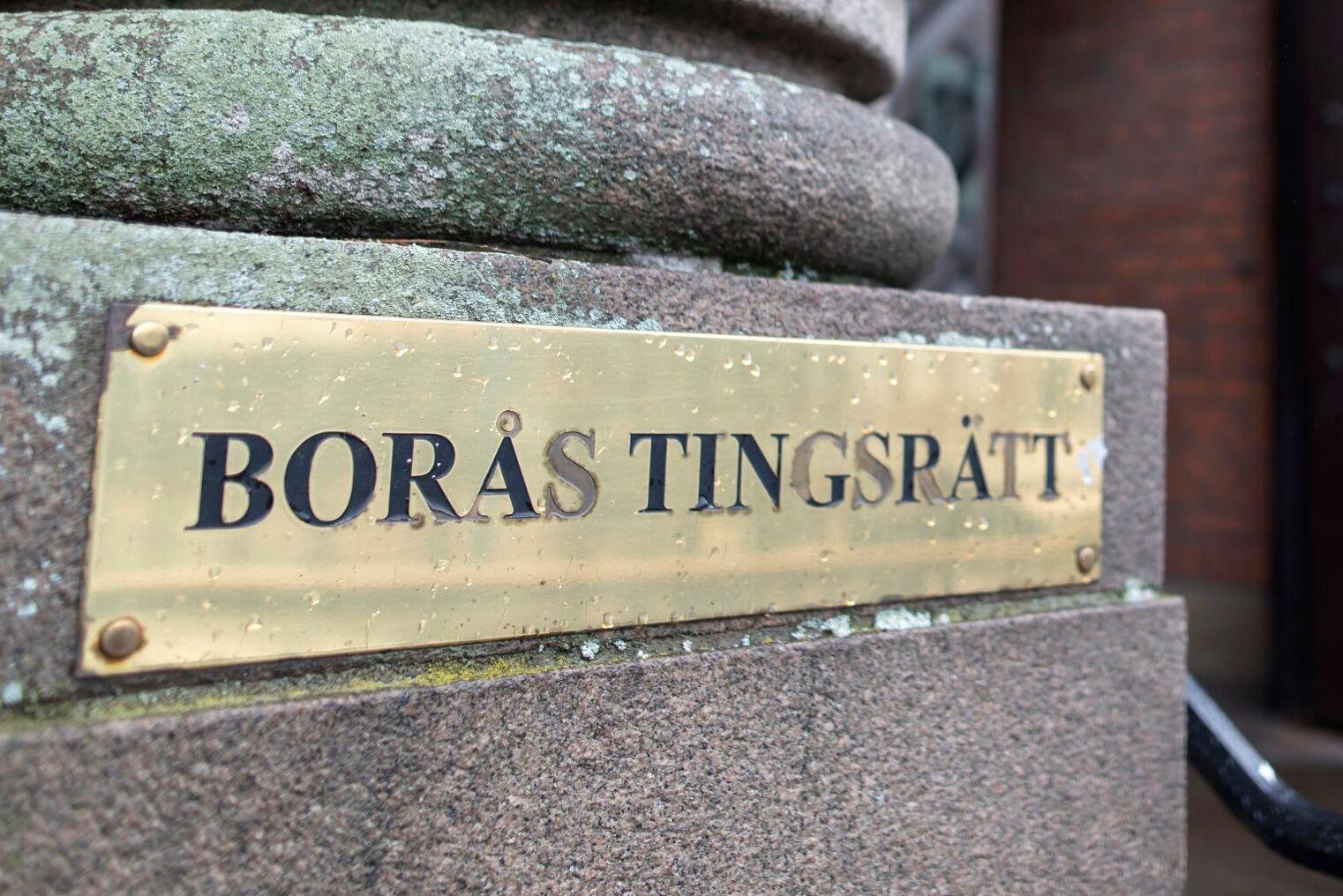 Nio personer som tog sig in på ett slakteri döms till dagsböter av Borås tingsrätt. Arkivbild.