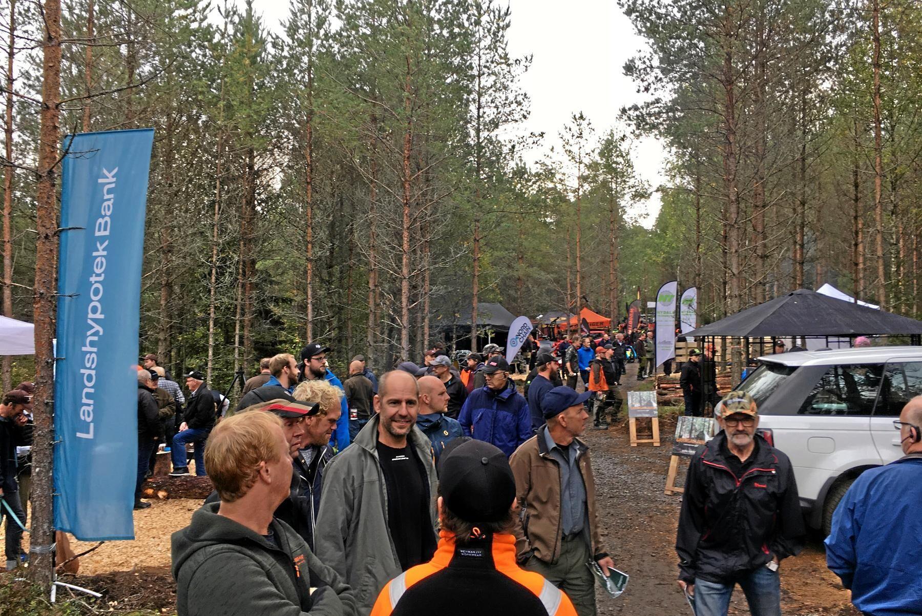 Årets Gallringsdagar hölls i Fägrida, Vaggeryd, och lockade 3 500 besökare, vilket var nytt rekord.