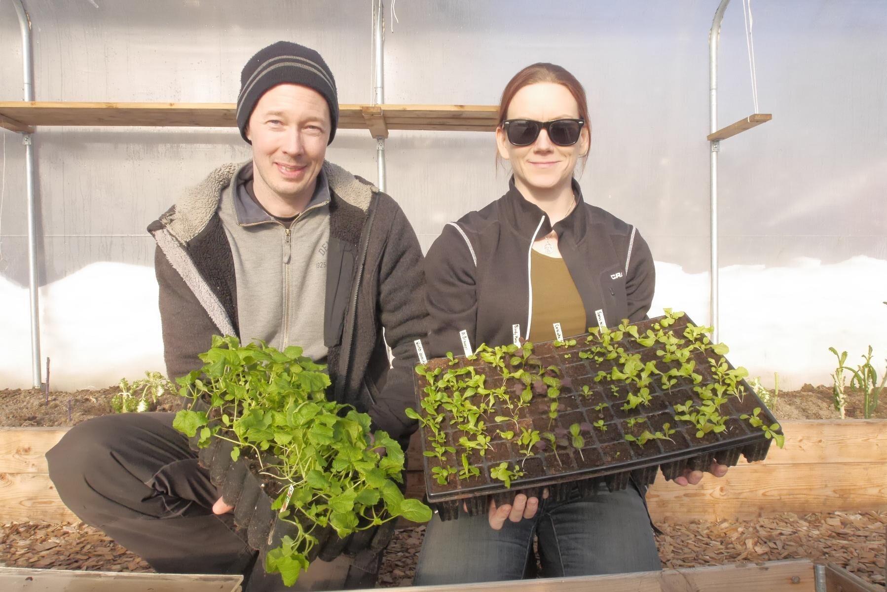 Martin Johansson och MaryAnn Fargo driver ett växande företag på den sörmländska landsbygden.