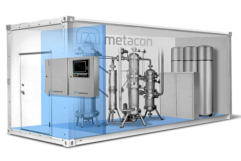 Flera aktörer jobbar i dag med att göra vätgas till framtidens energibärare. ATL har bland annat skrivit om Metacons lösning för att göra om biogas till just vätgas.