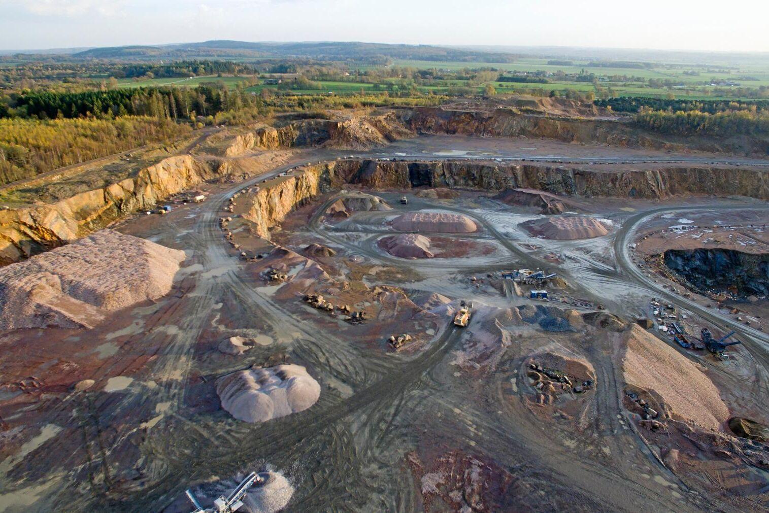 Arkivbild. Utanför Dalby bryts stora mängder sten till anläggningsarbeten. Scandivanadium har fått undersökningstillstånd av Bergstaten för att leta efter främst vanadin i sydöstra Skåne.
