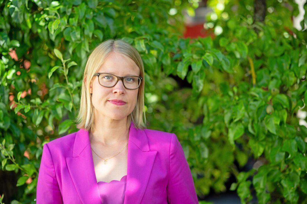 Kristina Yngwe, Ordförande Miljö- och Jordbruksutskottet (C) .