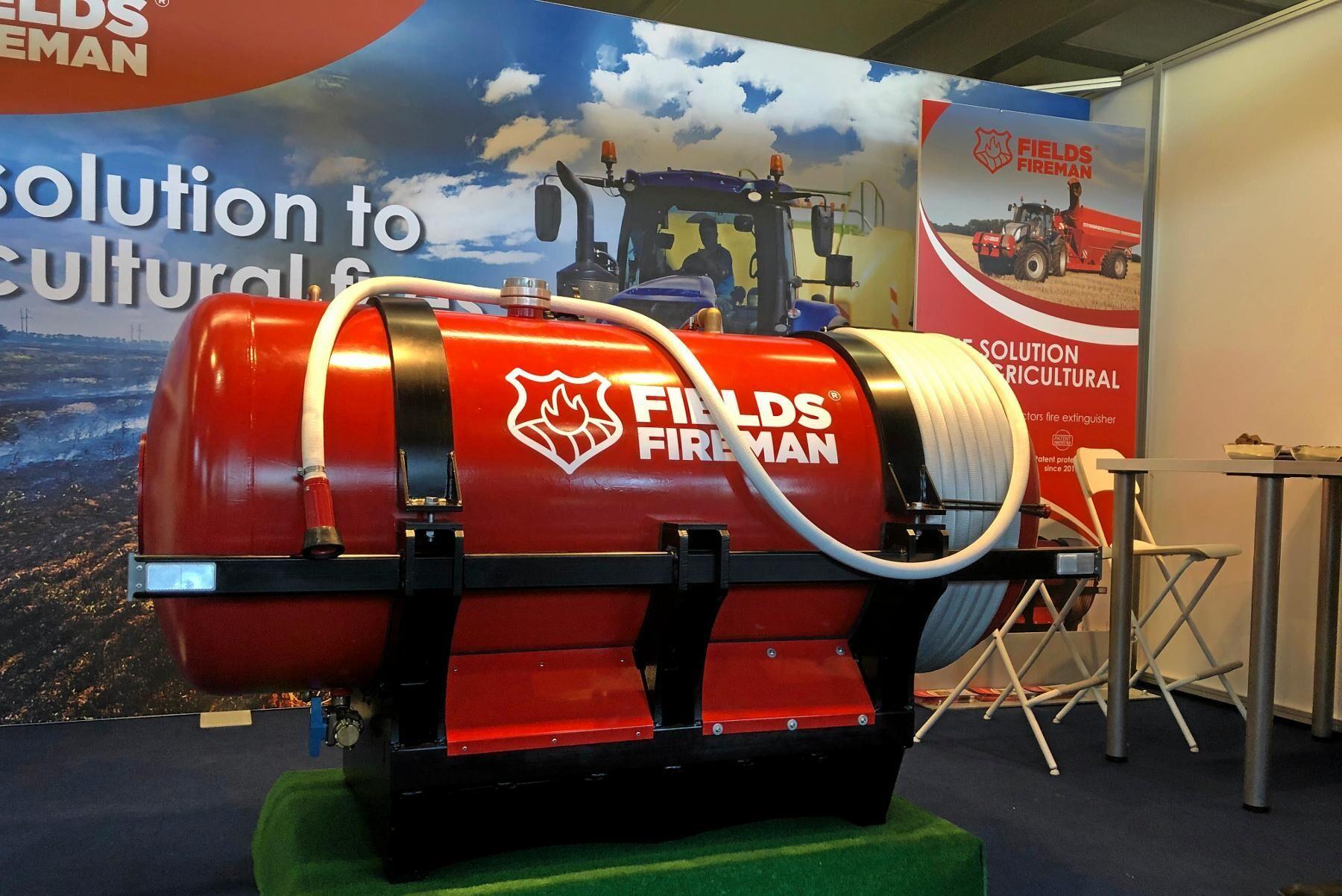 Fields Fireman är en mobil brandsläckningstank som utvecklas i Ungern.