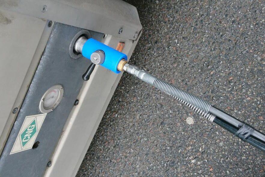 Produktionen av biodrivmedel, till exempel biogas, ökar.