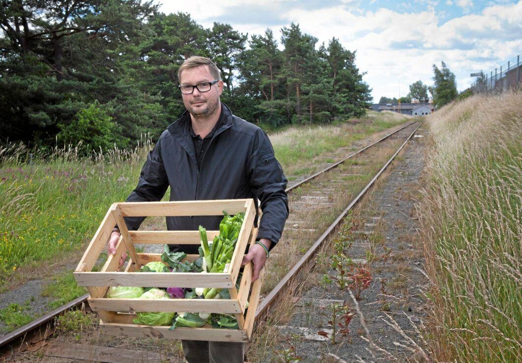 Andreas Lindberg är kocken som startade Bondens skafferi.