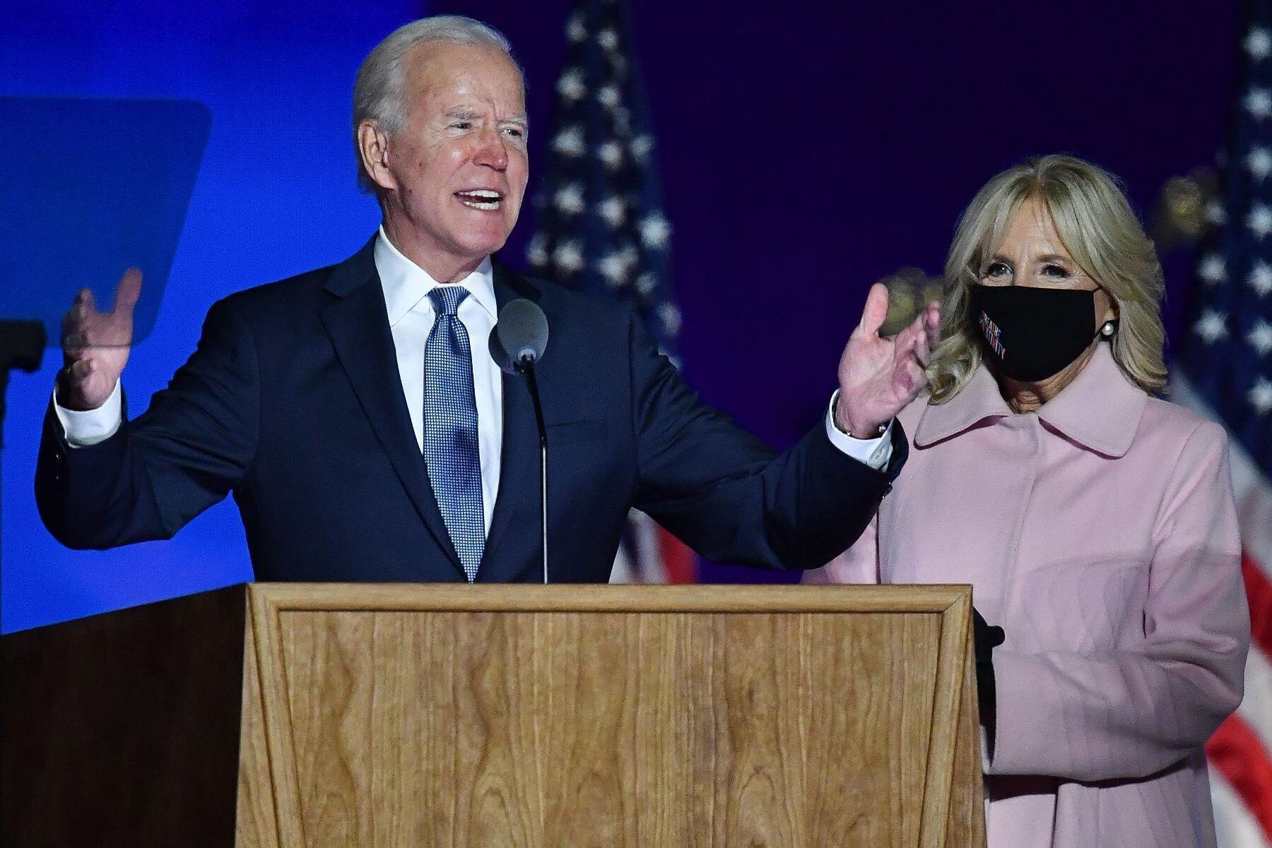 Joe Biden kommer med största sannolikhet att bli USA:s 46:e president.