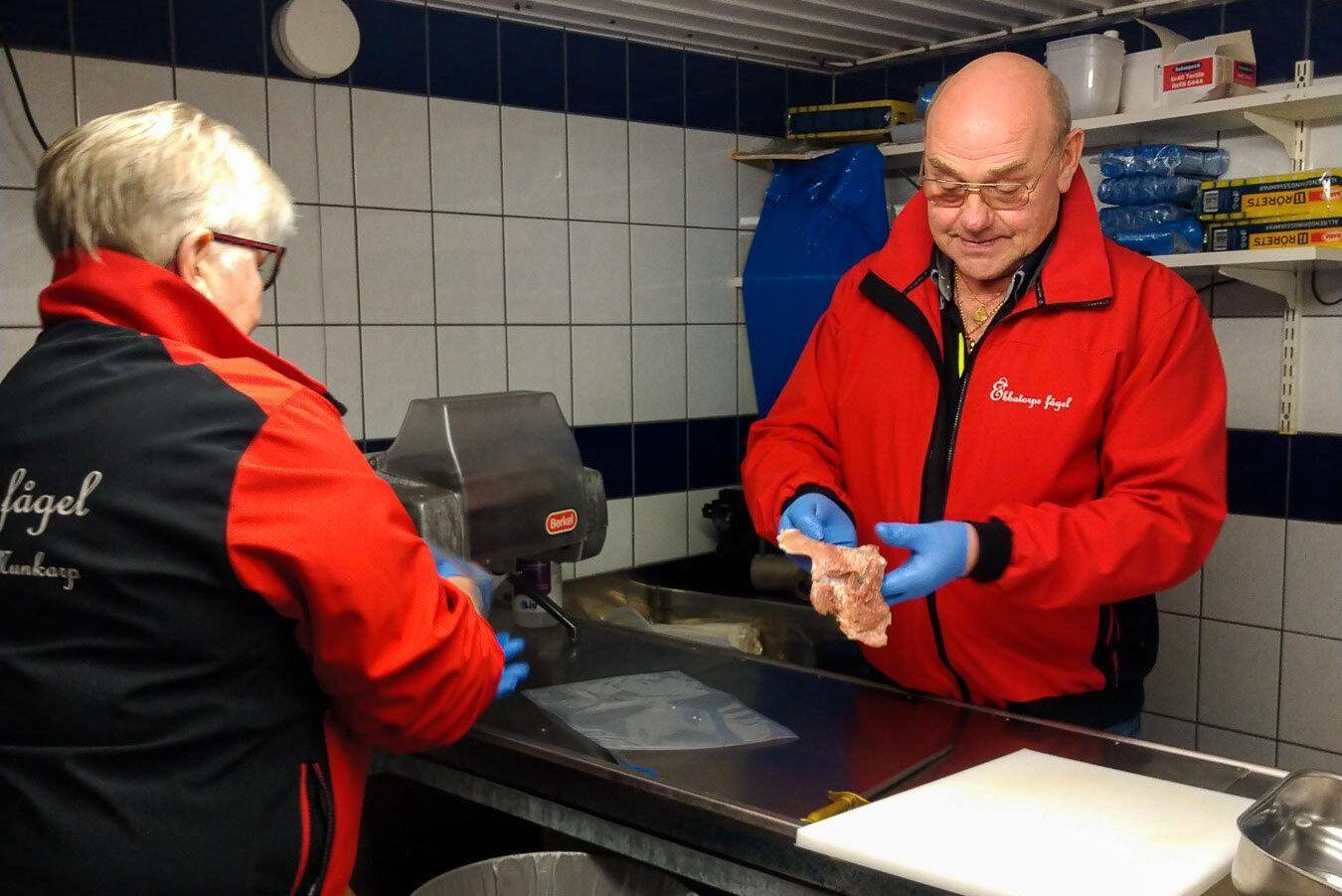 Christel och Bengt Persson driver Ebbatorps Fågel.