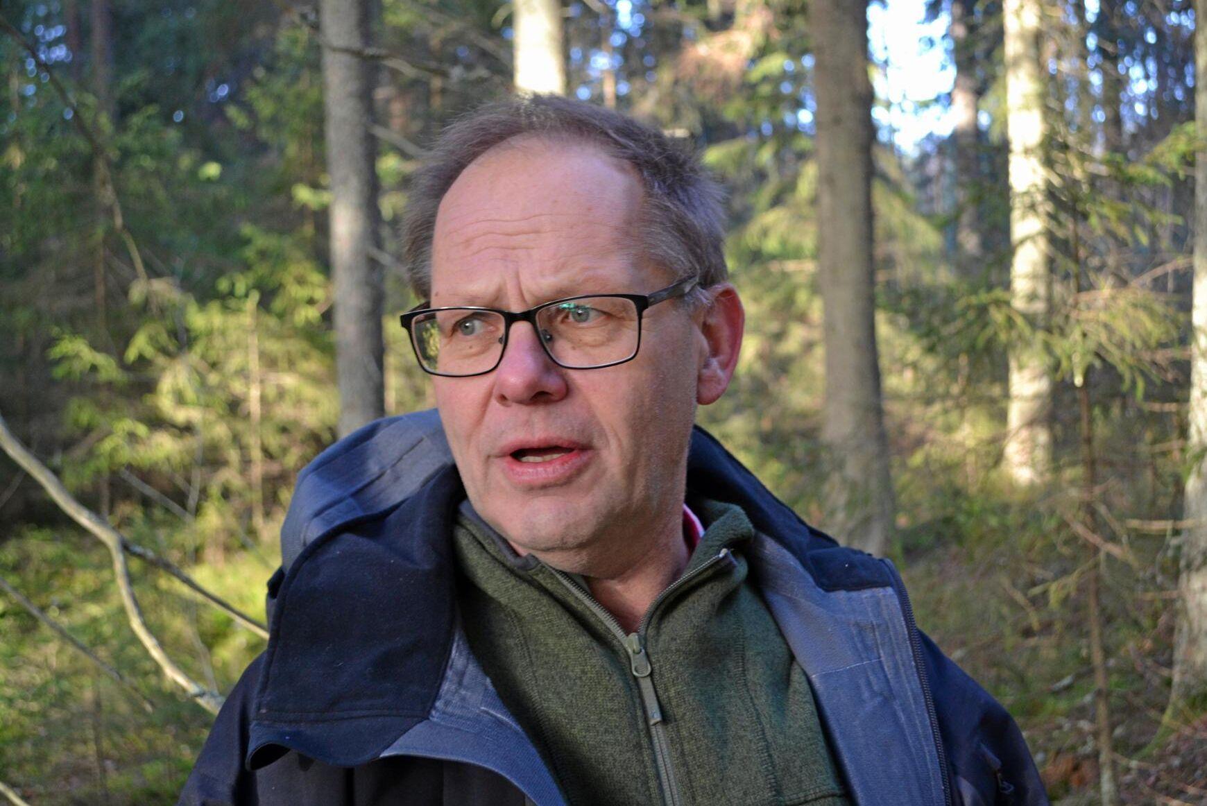 Leif Öster, skogsägare och debattör i ATL.