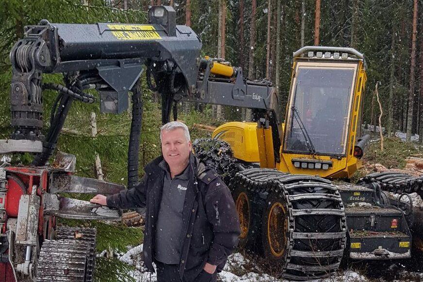 Johan Adolfsson fick Stora Ensos säkerhetspris.