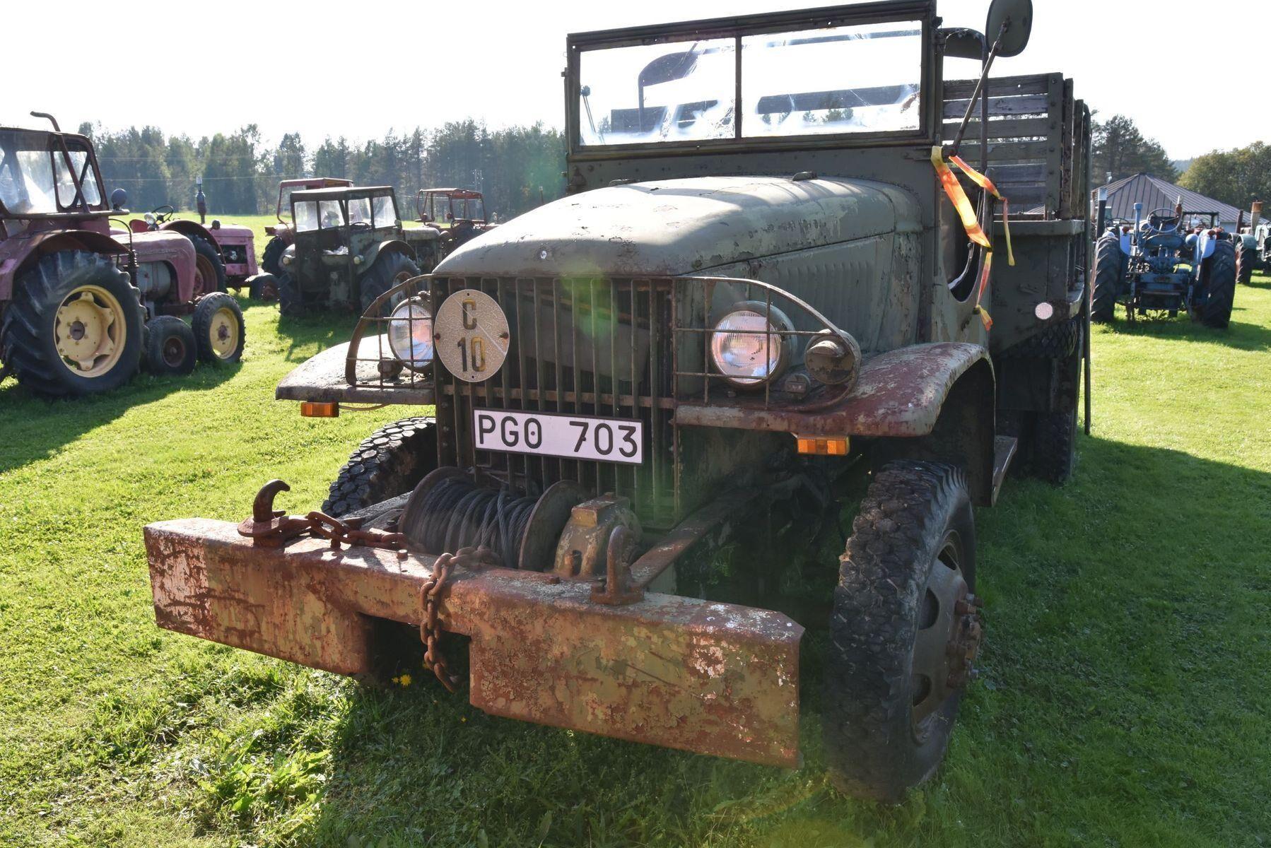 GMC 6x6 Armélastbil CCKW 353 6 cyl bensin från 1943.