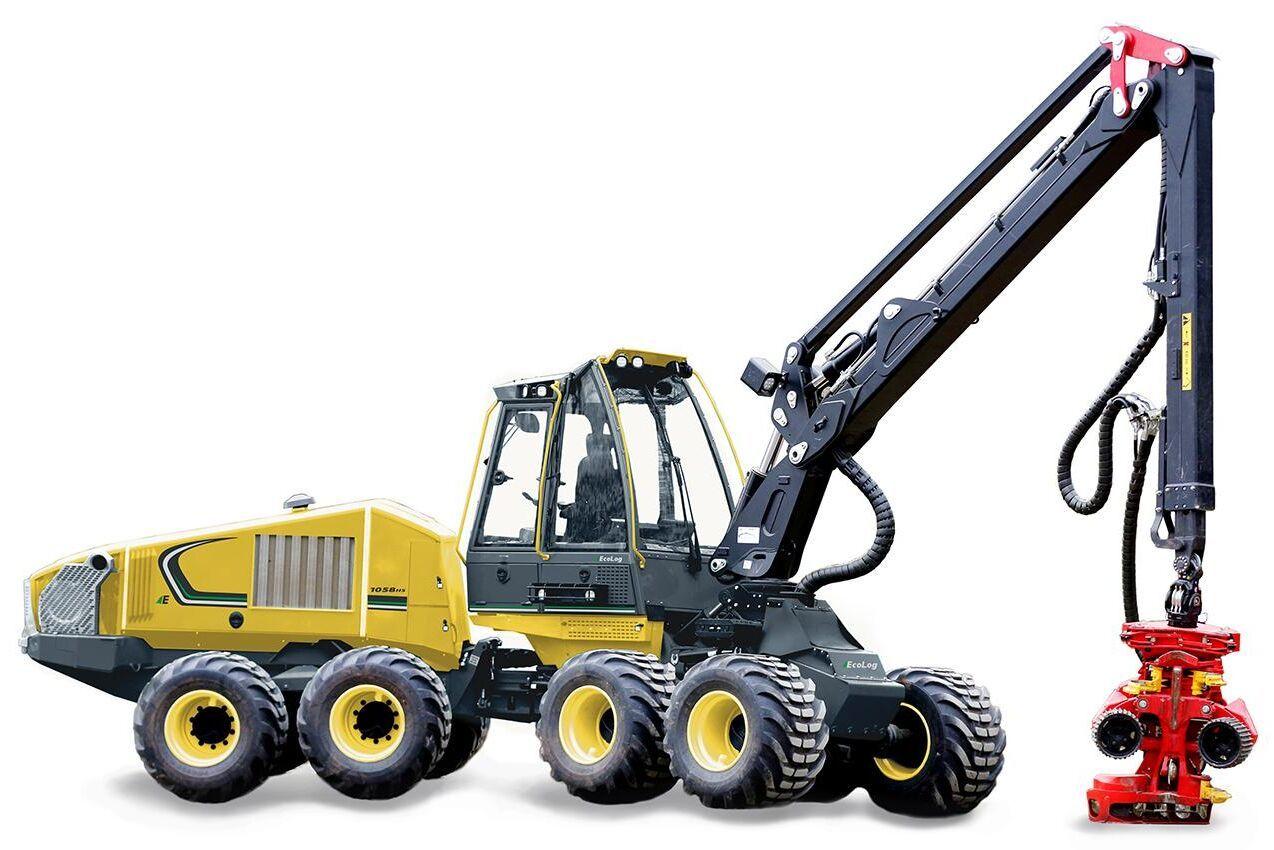 Eco Logs hela skördarprogram kommer att erbjudas med det nya aggregatet som utvecklas av SP Maskiner.