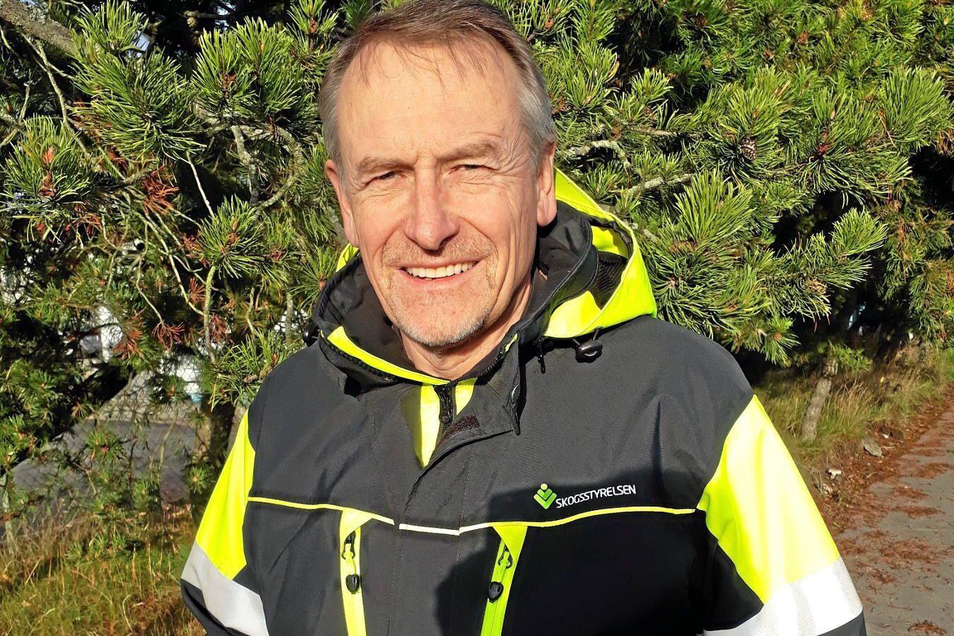 Göran Hagerfors, senior advisor på Skogsstyrelsen i Sala.