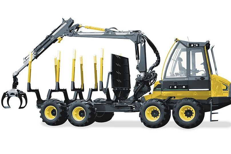 Eco Log och Gremos nya skotarprogram består av fem maskiner med från 8,5 till 20 tons lastkapacitet.