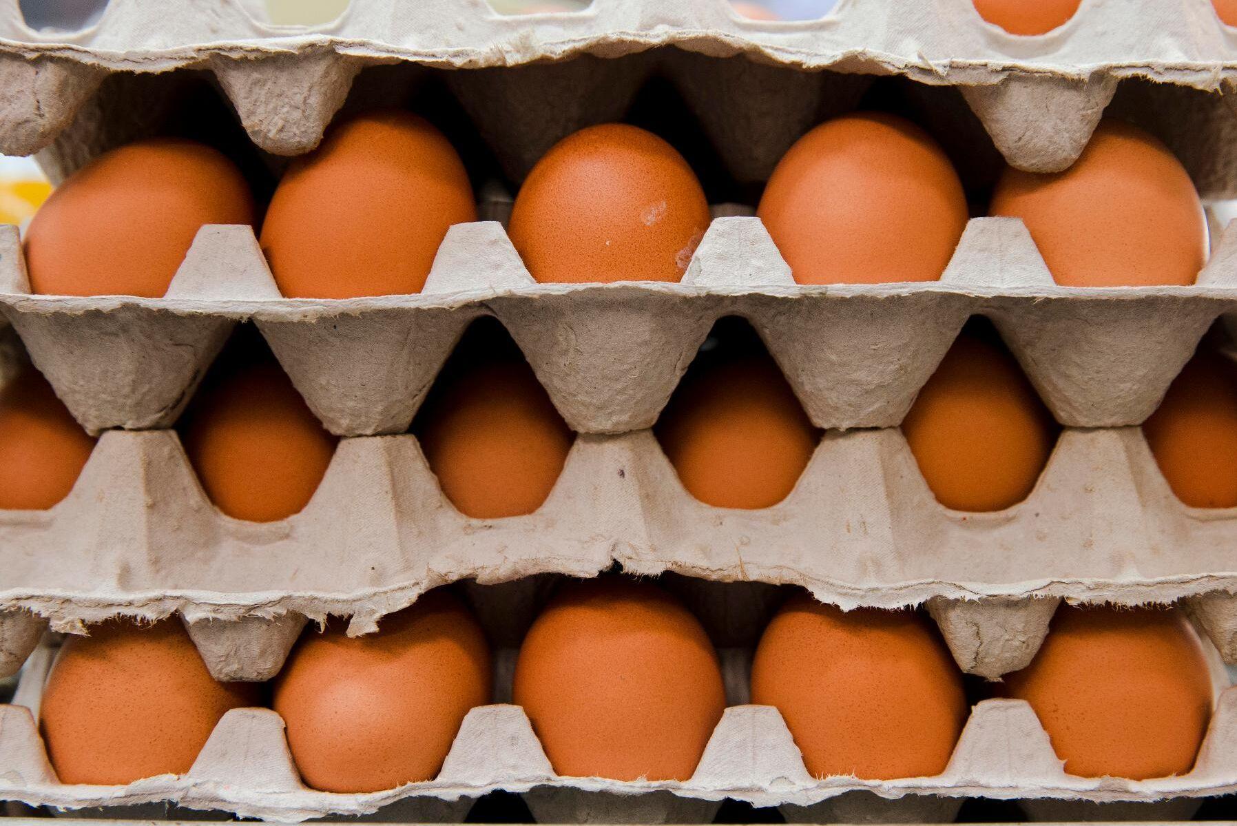 Ägg är hett eftertraktade i coronatider. Arkivbild.