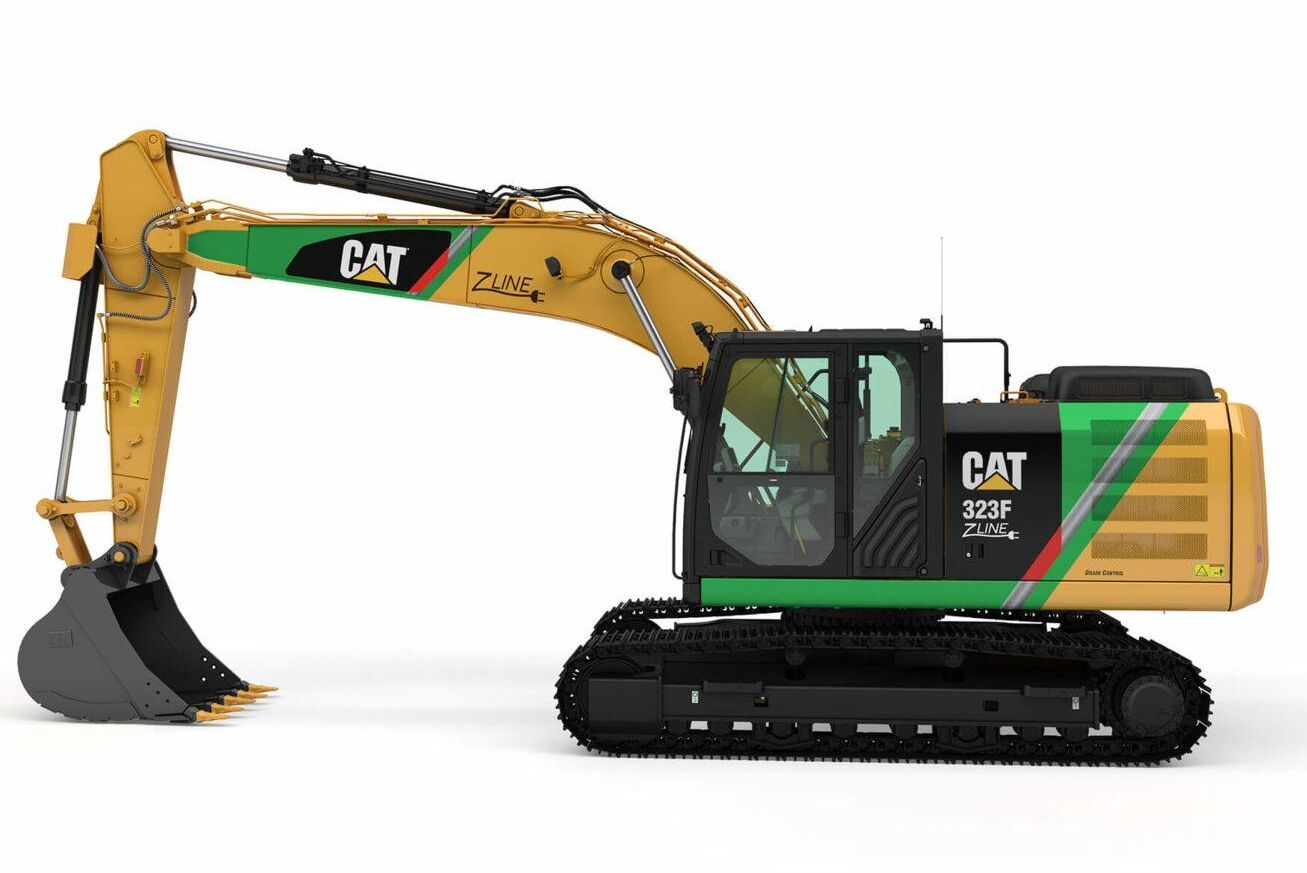 Det är inte gott om elgrävare med tillräckligt stor nettoeffekt. Cat 323F Z-line är en eldriven grävmaskin på 25-ton som tagits fram i ett fåtal ex för den norska marknaden.