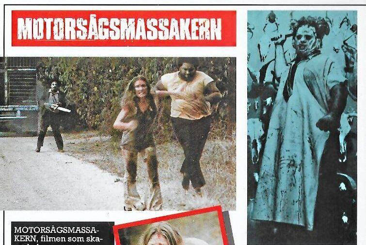"""Filmen """"Motorsågsmassakern"""" var totalförbjuden i Sverige i mer än 20 år."""