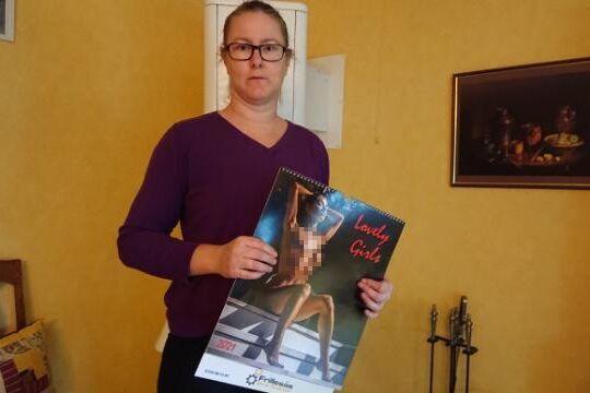 Helen Gustafsson (tidigare Johansson) fick en nakenkalender i julklapp från reservdelsfirman men sa ifrån - något som väckte starka reaktioner.