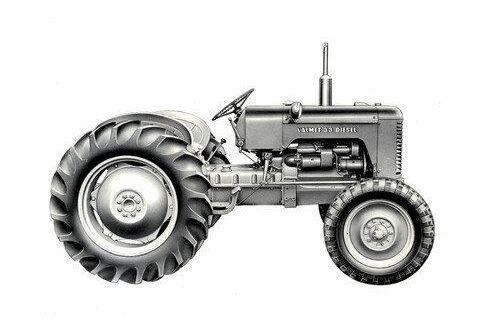 33D blev en viktig traktor för Valmet. Det var företagets första dieseldriva modell. 1959 ändrades namnet till 359D och med den kom också flera förbättringar. Läs mer i ATL:s Traktorkalender.