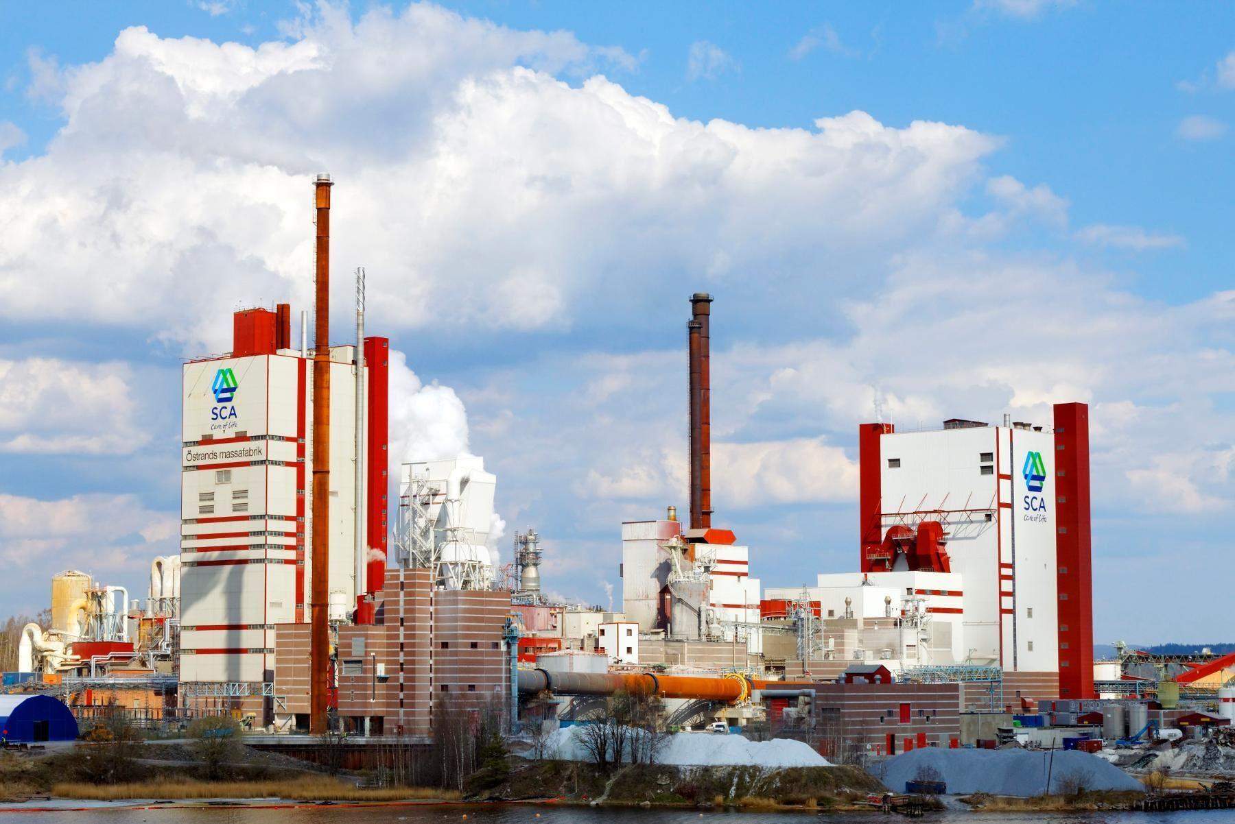 Produktionsstoppet på Östrand i juli påverkade resultatet negativt.