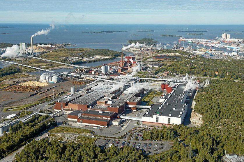 UPM lägger ned en av tre pappersmaskiner vid bruket i finska Rauma.