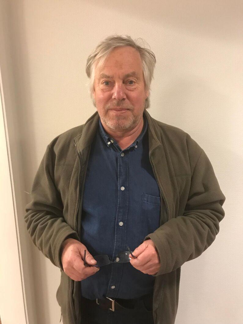 Stefan Lundgren är produktionsvarig vid Kalmar Ölands Trädgårdsprodukter och tycker att nya produkter på marknaden som skapar efterfrågan av baljväxter är positiv.