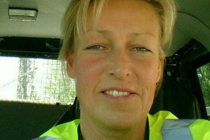 Birgit Edin, takskottare på Farmartjänst i Härnösand.