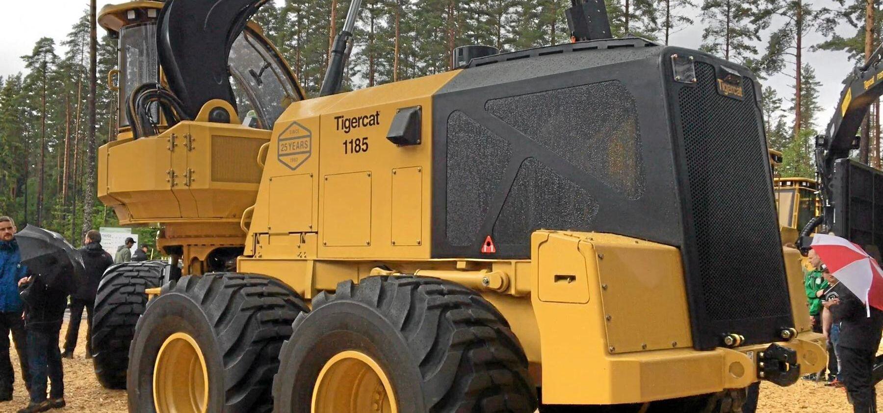 Maskinen går under modellbeteckningen 1185.