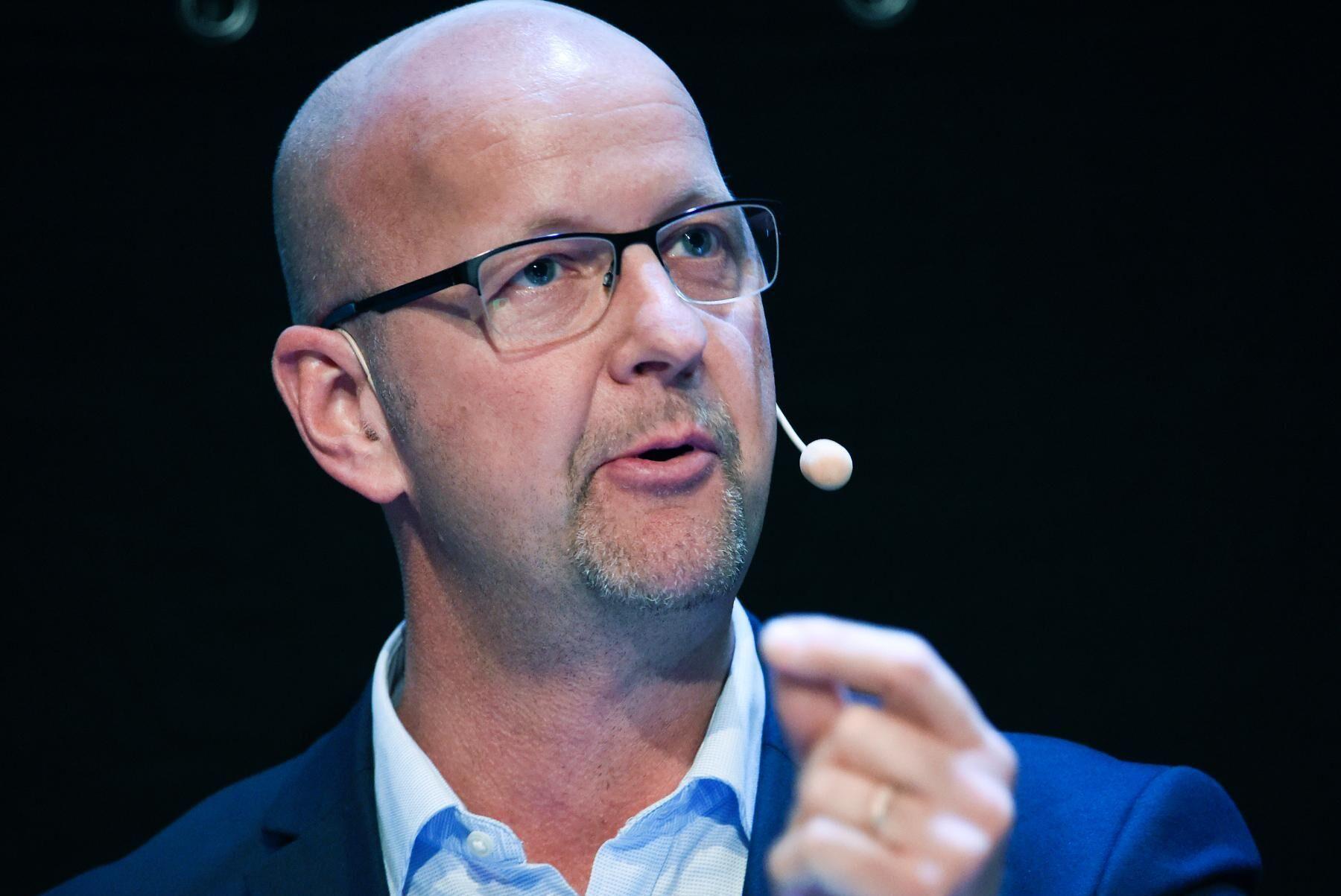 Kristdemokraternas riksdagsledamot Magnus Oscarsson under landsbygdsriksdag 2018.