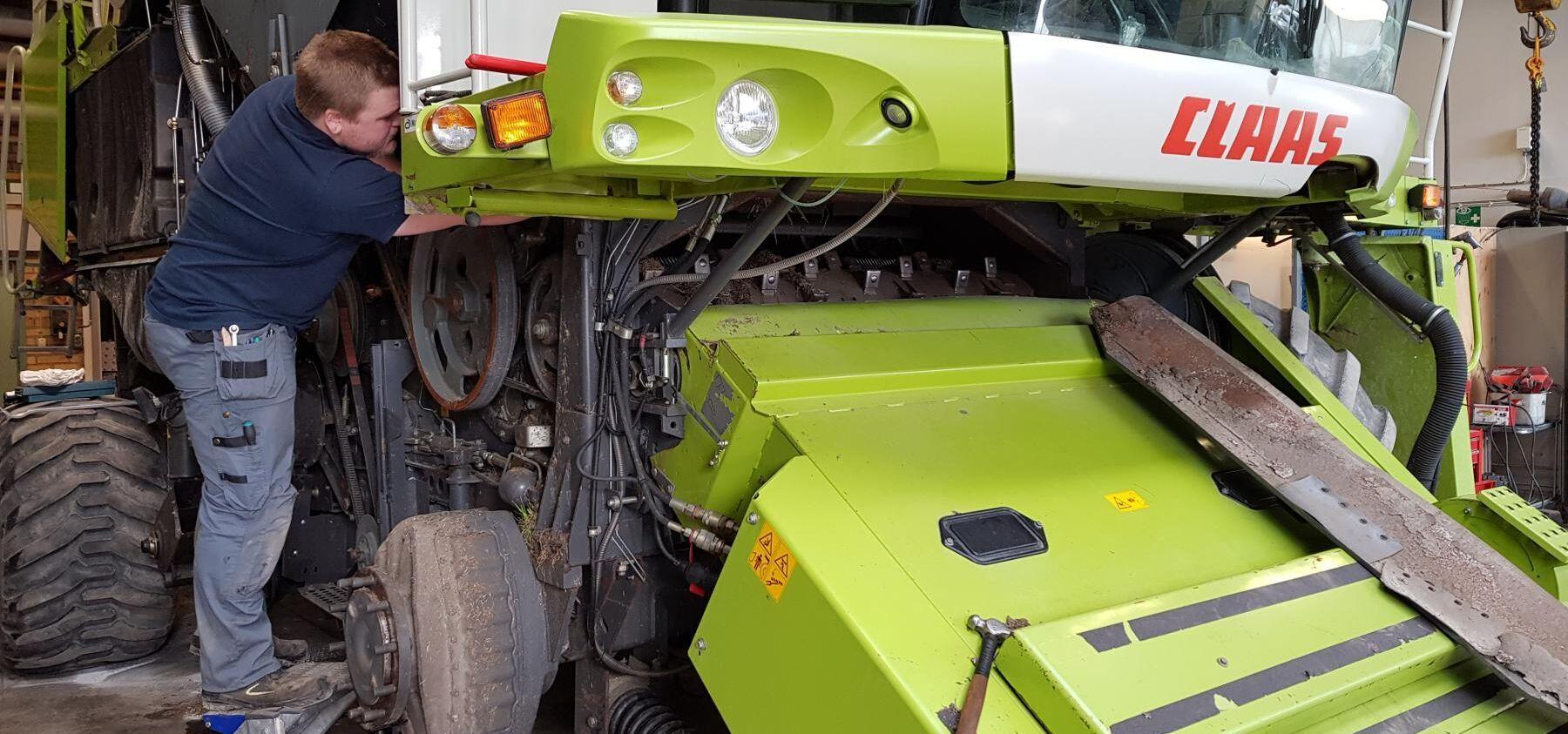 Lantmännen vill även fortsättningsvis serva en rad maskinmärken, och står därför fast vid att fortsätta reparera Claas-maskinerna.