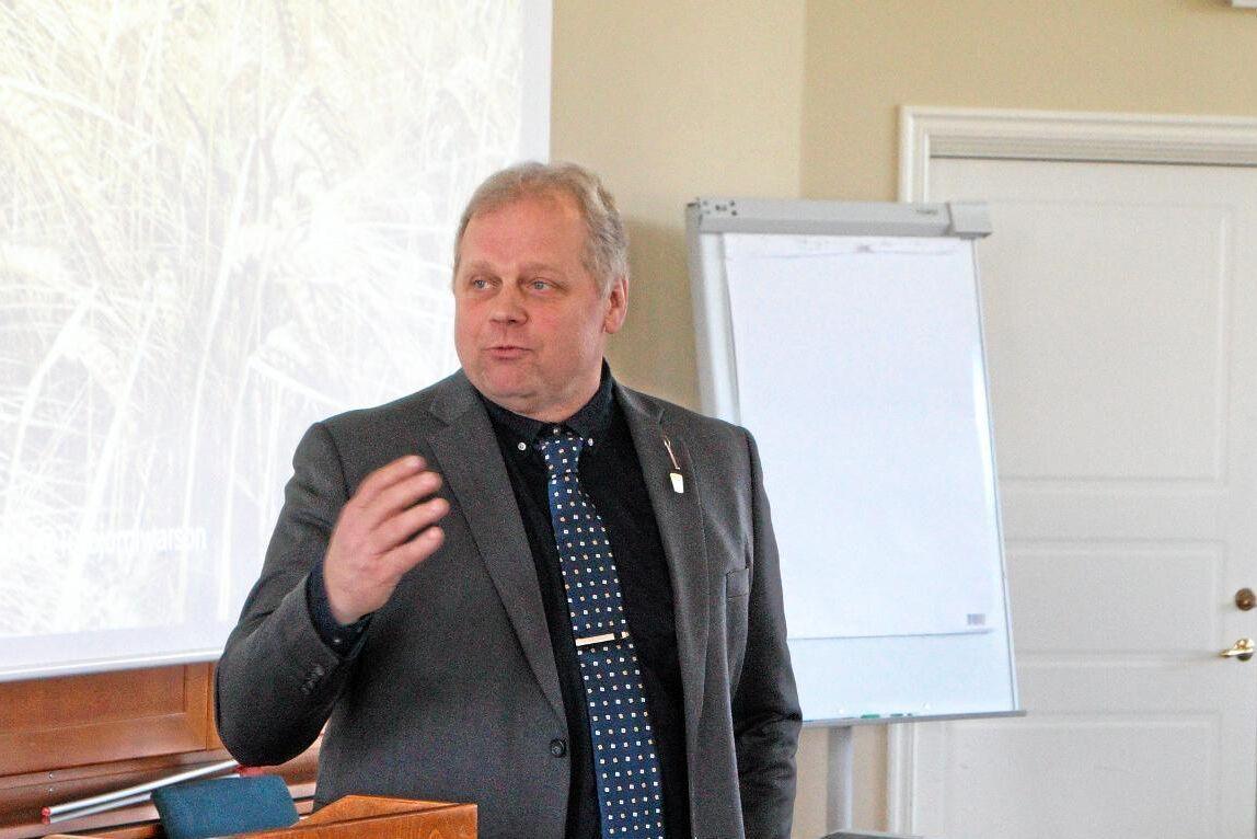 Anders Rolfsson, ordförande i Skånemejerier