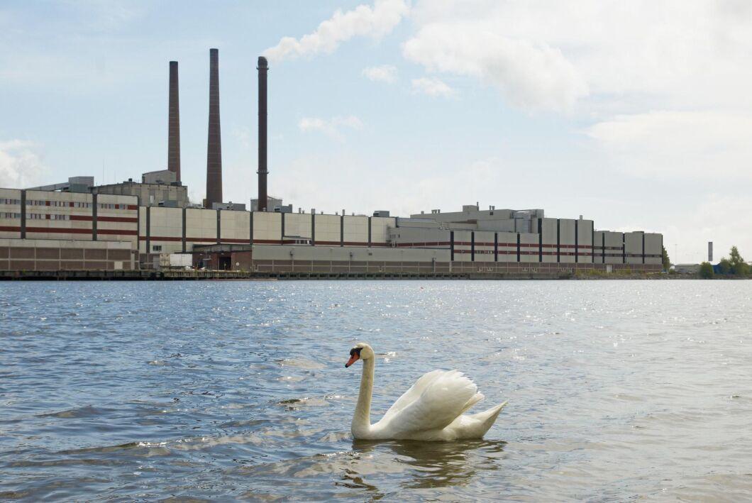 Ortvikens pappersbruk i Sundsvall är en av SCA:s anläggningar.