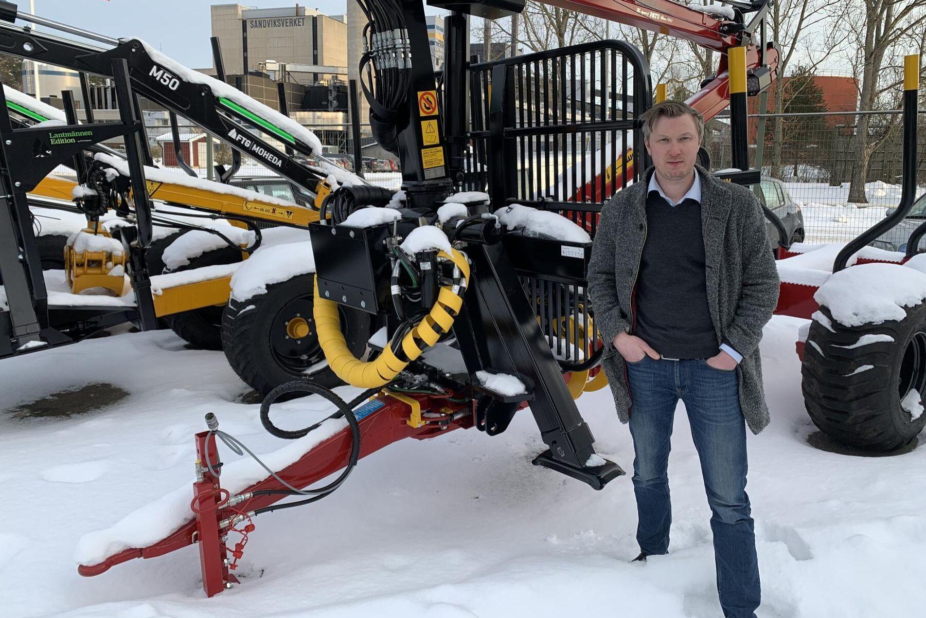 Axel Hjelmer har startat appen Eremit som låter markägare tjäna pengar på skog som inte används för virkesproduktion.